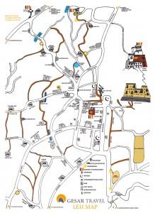 Map Leh