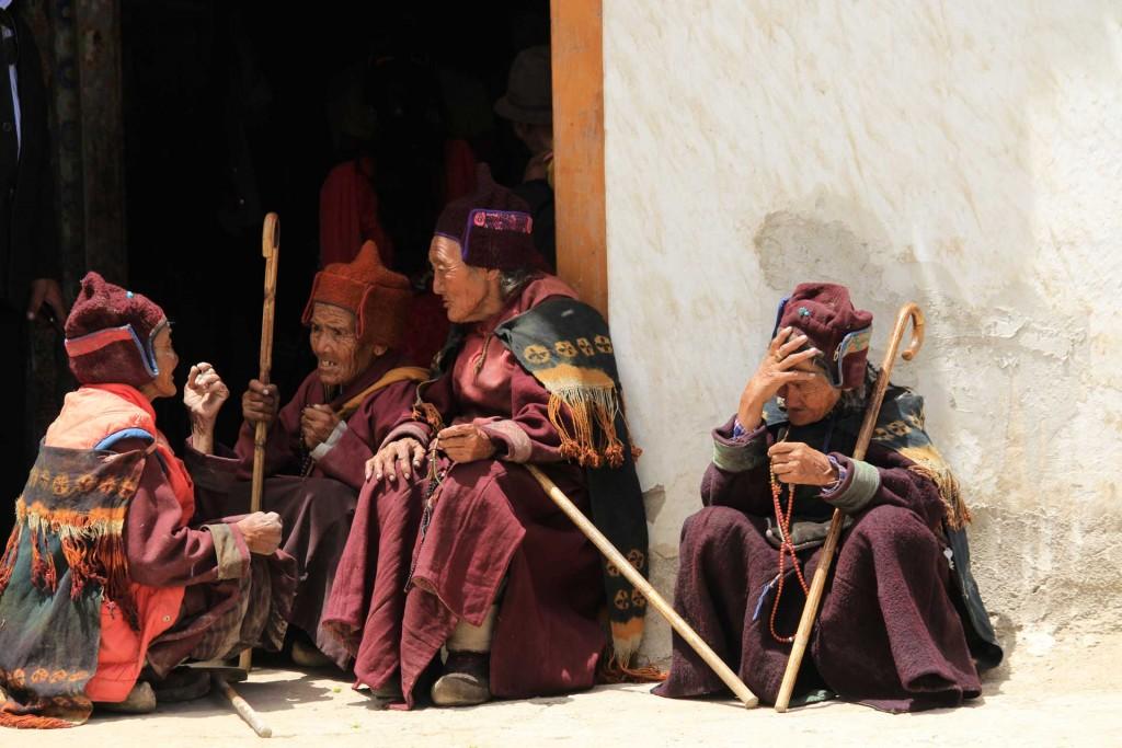 Beim Sani-Festival