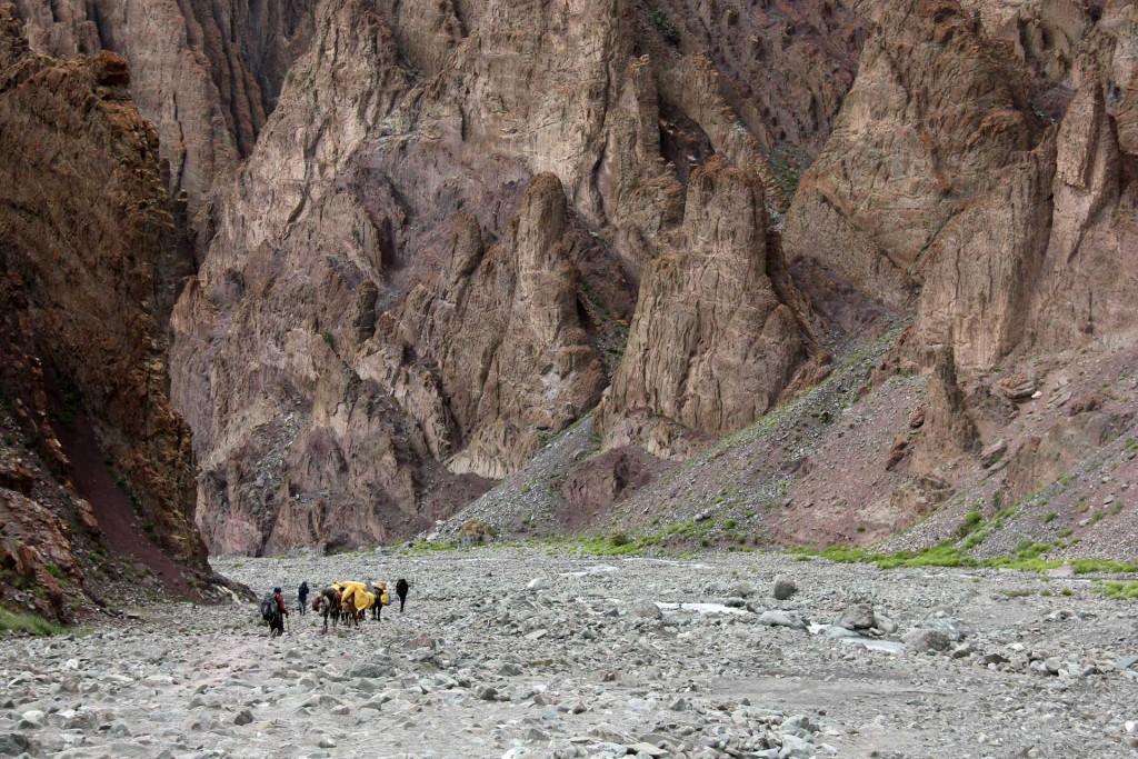 Bergsteigen Ladakh