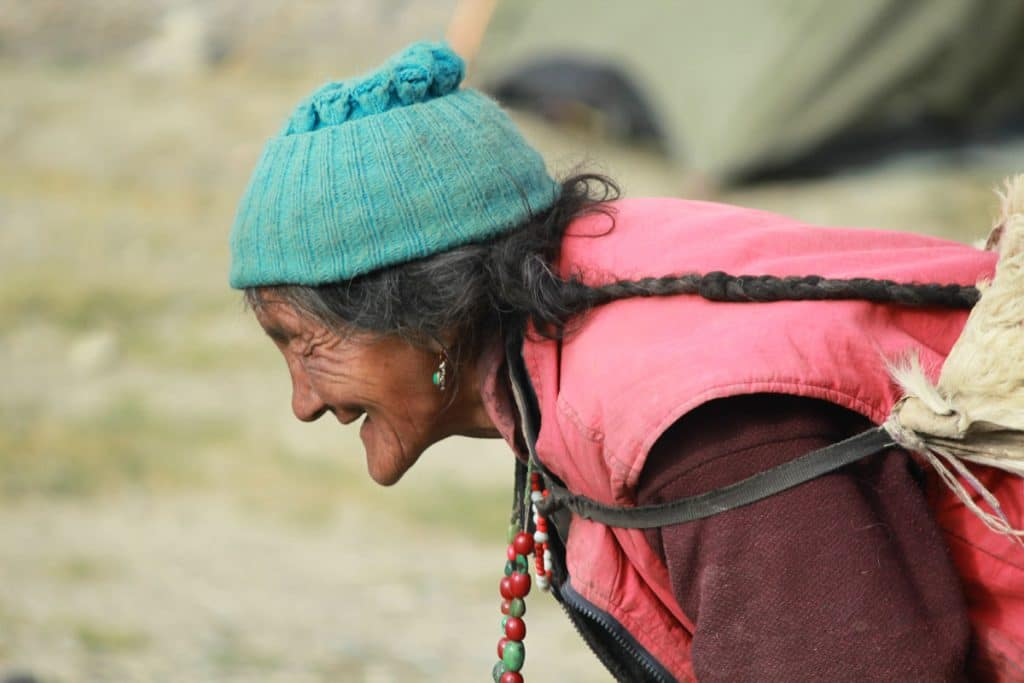 old lady zanskar