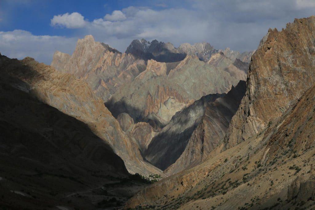 Hanupatta village Zanskar