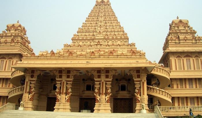 Chhatarpur Tempel in Delhi