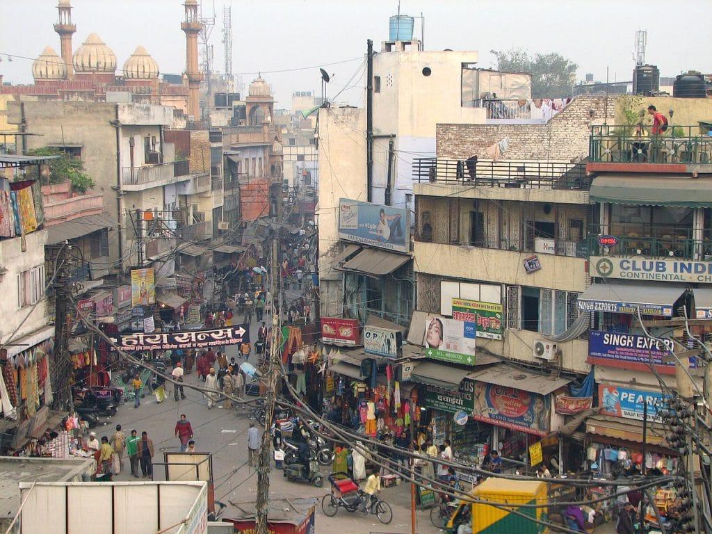 Paharganj in Delhi