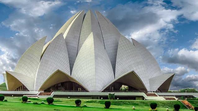Lotustempel in Delhi