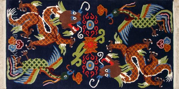 tibetischer teppich