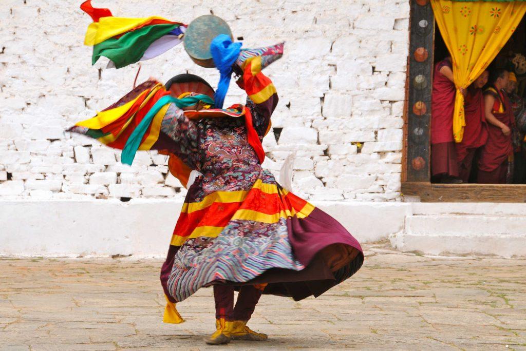 Bhutan Monastery Festival