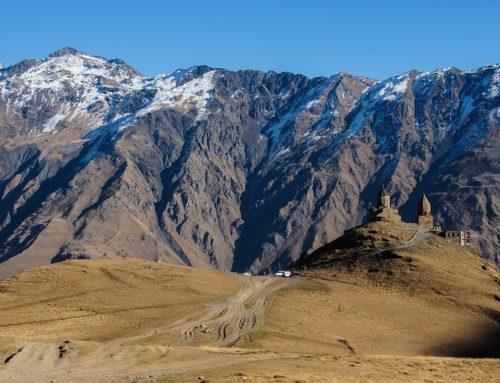 Georgien: Nein, nicht Stepantsminda (Kazbeg)